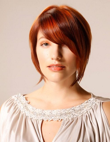fringe bob haircut