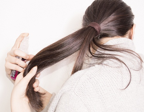 How to use Hair Serum1