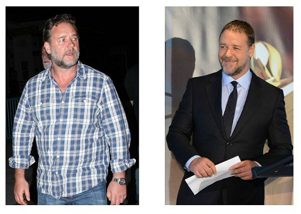 Russell Crowe Weight Loss