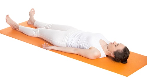 Yoga Poses For Glowing Skin-Shavasana