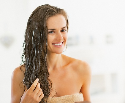 Using a Conditioner  andProtect Hair From The Sun