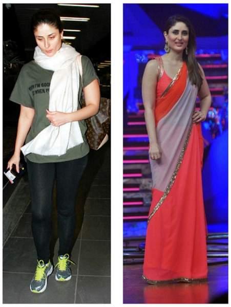 Kareena Kapoor Before and After Weight Loss