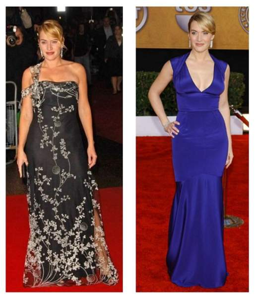 Kat Winslet Before and After Weight Loss