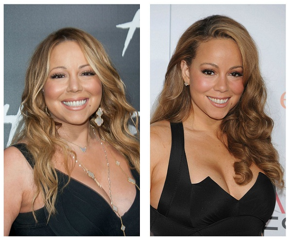 Mariah Carey Before and After Weight Loss
