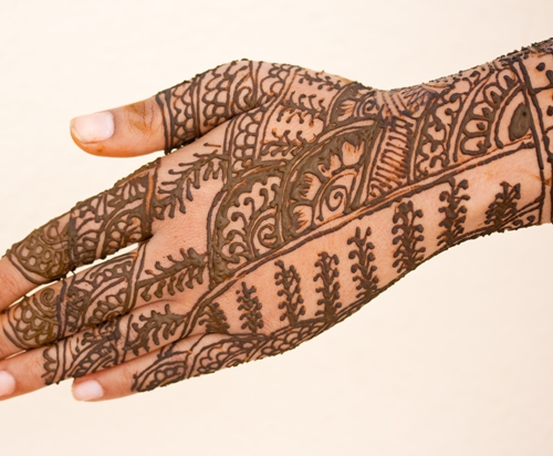 mehndi design for the whole hand