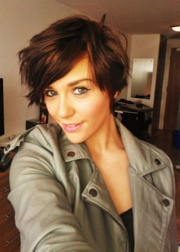 short messy hairstyles6