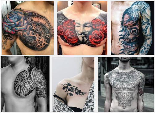Male Chest Tattoo Gallery: 15 Best Chest Tattoo Designs For Men And Women