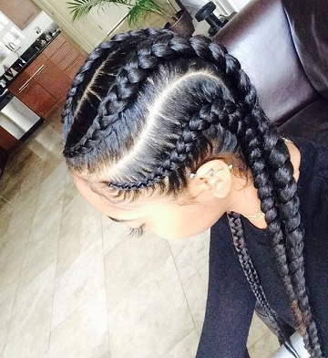How To Do Cornrow Braid Styles And Its Types Styles At Life