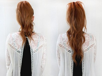 Fake ponytails 3