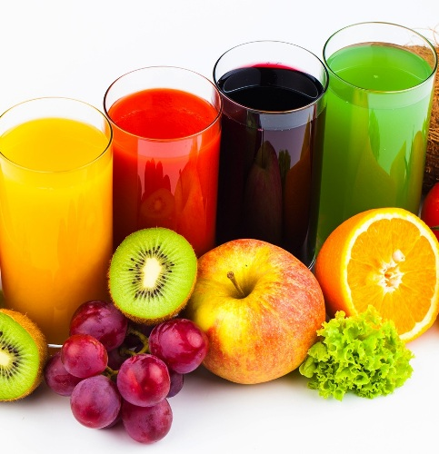 Fruit Juices Foods High In Sugar