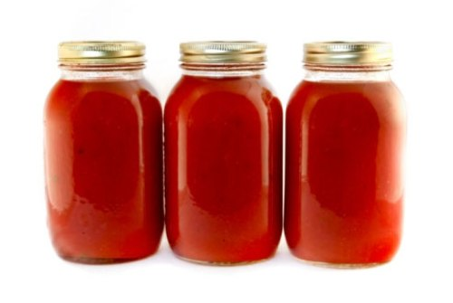 Sugar Foods Tomatoes Sauces In Jars