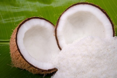 High Saturated Fat Foods Desiccated Coconut
