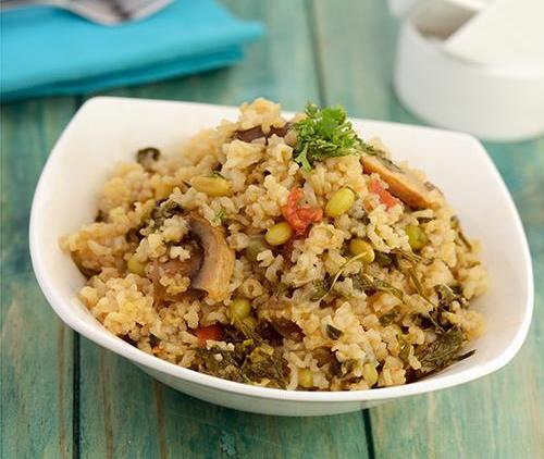 Healthy brown rice recipes  1