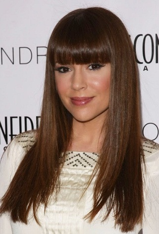 Medium Hairstyles With Bangs 4