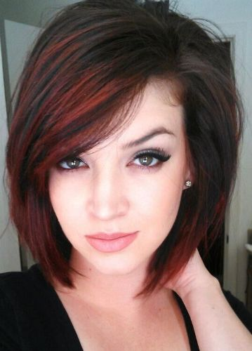 medium bob haircuts for thick hair 9 trendy medium length hairstyles for thick hair 1740