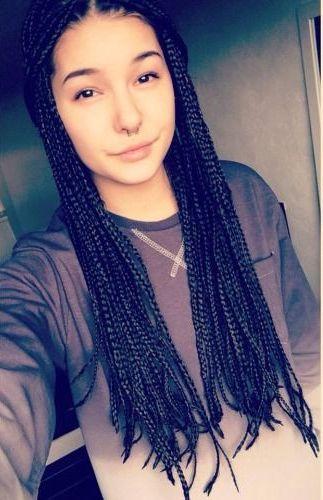 Enjoyable Top 9 Micro Braids Hairstyles Styles At Life Short Hairstyles For Black Women Fulllsitofus