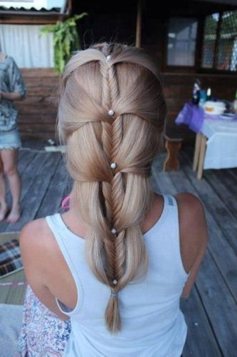 Prom hairstyles for braids 9