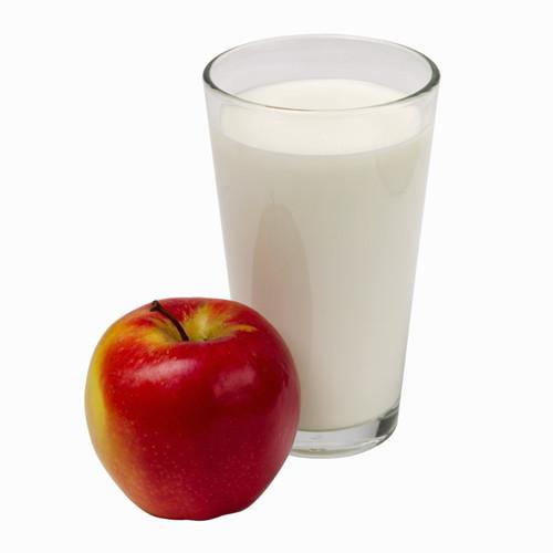 apple and milk