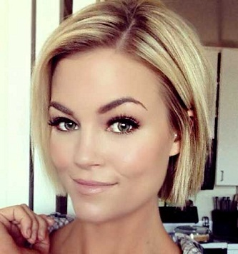 Strange Top 9 Blonde Bob Hairstyles Styles At Life Hairstyle Inspiration Daily Dogsangcom
