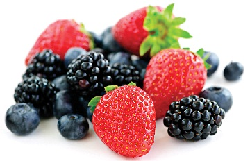 Berries Food Good For Lungs