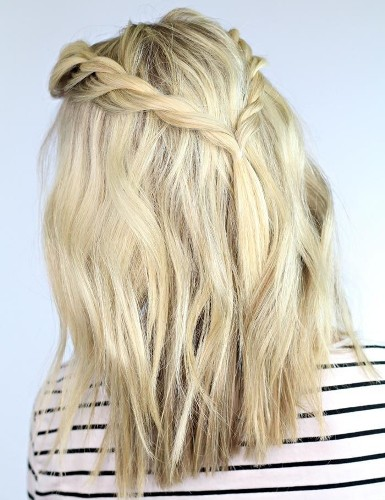 the back braid