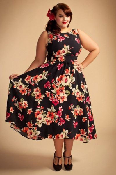 Dresses for chubby women