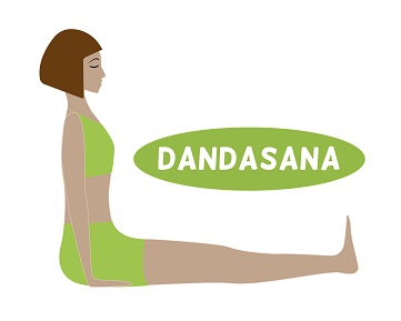 dandasana staff pose  how to do and benefits