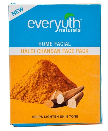 Everyuth Naturals Home Facial Haldi Chandan Face Pack