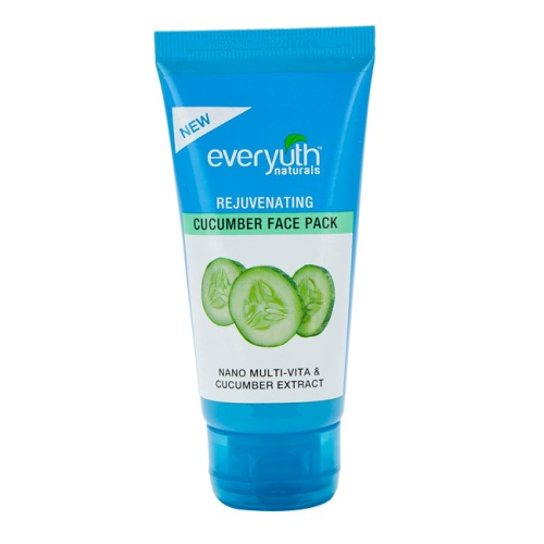 Everyuth Naturals Skin Firming Cucumber Face Pack