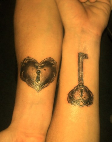 Lock and Key Tattoos 2