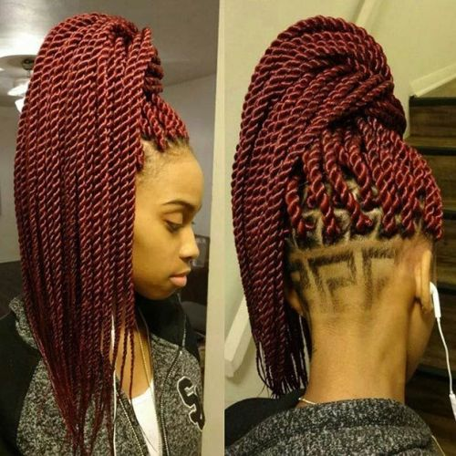 Ponytail Hairstyles for Black Women 4