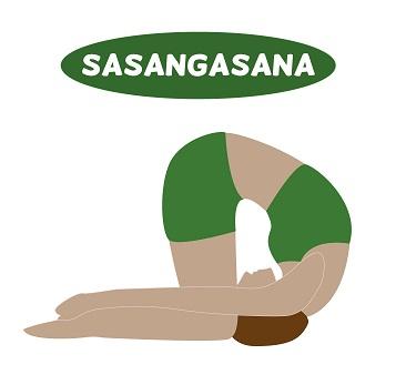 Sasangasana -rabbit pose