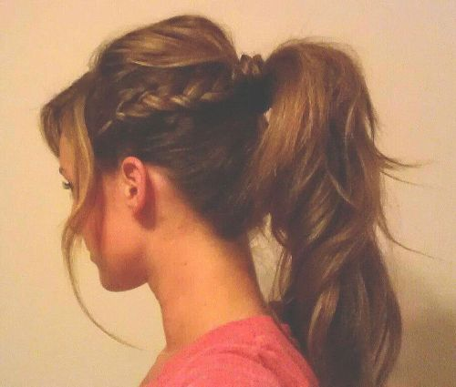 School Hairstyles for Medium Hair 2