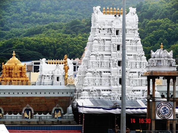 Tirupati Balaji Temple Andhra Pradesh