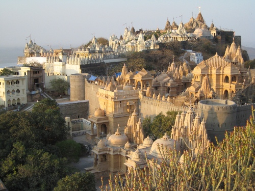 Shri Shatrunjaya Temples In Palitana