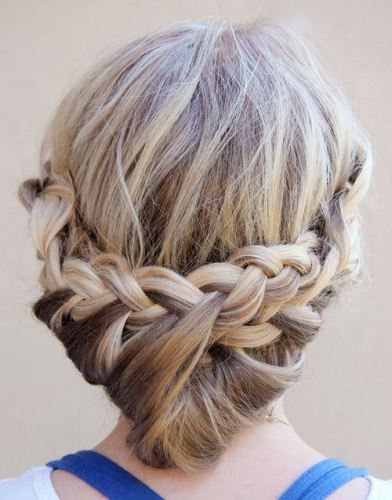 Updo Hairstyles for Medium Hair 1
