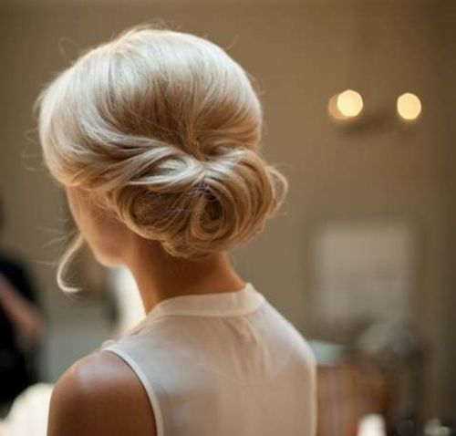 Updo Hairstyles for Medium Hair 4