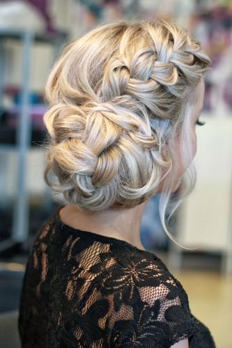 Updo Hairstyles for Medium Hair 6