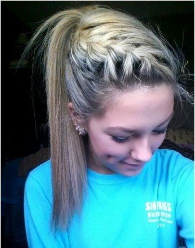 Updo hairstyles with braids 1