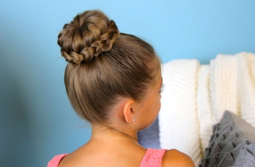 Updo hairstyles with braids 5