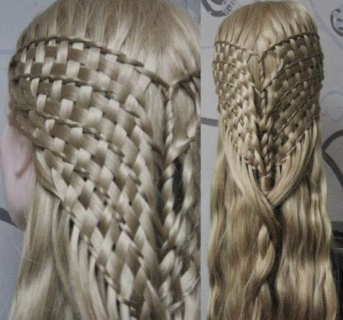 Updo hairstyles with braids  9