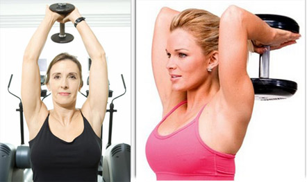 breast exercise for tightening the breast