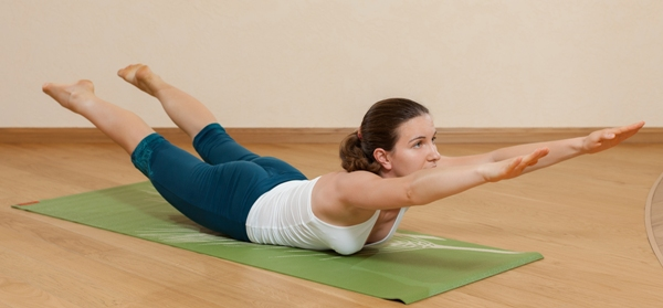 Makarasana of yoga (Or) The Crocodile Pose