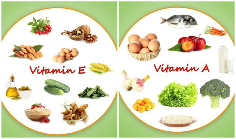 Vitamins E and A for Dark Circles