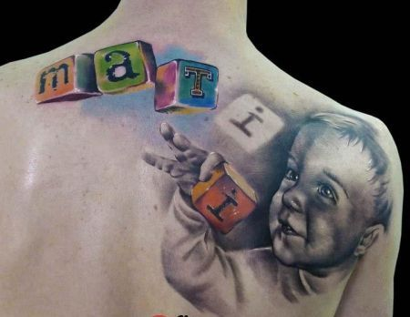 Top 7 Beautiful Baby Tattoo Designs  Styles At Life