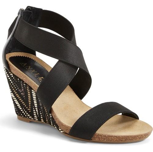 Black Sandals for Women 1