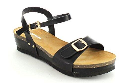 Black Sandals for Women 2