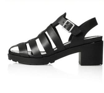 Black Sandals for Women 41