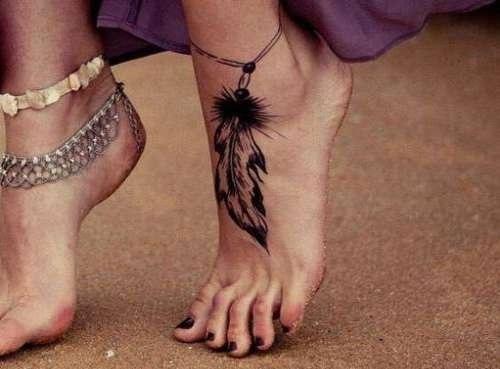 Ankle Bracellet Tatto designs