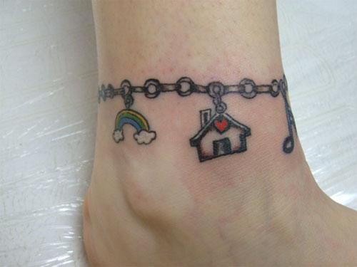 Charm Bracellet Tatto designs